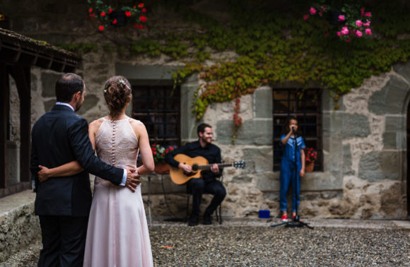 Mariage château de Lucens